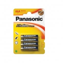 Baterija Panasonic alkalna AAA (4 kom)