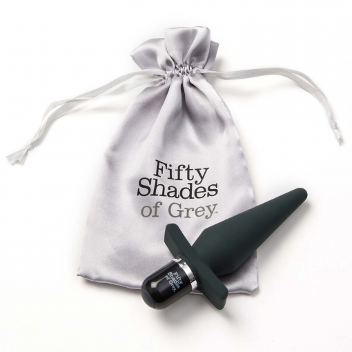 Fifty Shades of Grey – Vibrirajoči butt plug