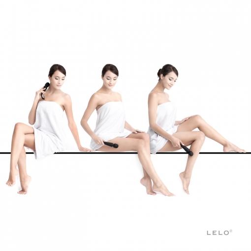 Lelo - Smart Wand Massager Medium, crni