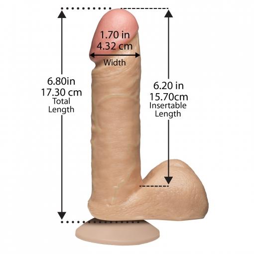 Doc Johnson - Realistični dildo, 15,5 cm