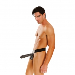 Fetish Fantasy – Big Daddy Strap-on, 25 cm, crni
