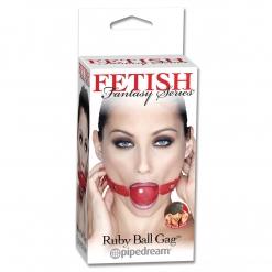 Fetish Fantasy - Ball Gag, crveni