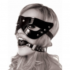 Fetish Fantasy – Masquerade maska in Ball Gag