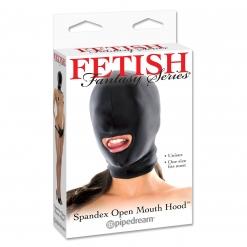 Fetish Fantasy – Spandex Open Mouth Hood