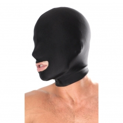 Fetish Fantasy – Spandex Open Mouth Hood