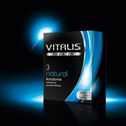 Vitalis – Natural kondomi, 3 kos