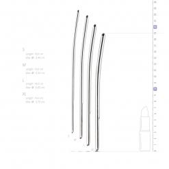 Sinner Gear - Dilator Set, 4 kos