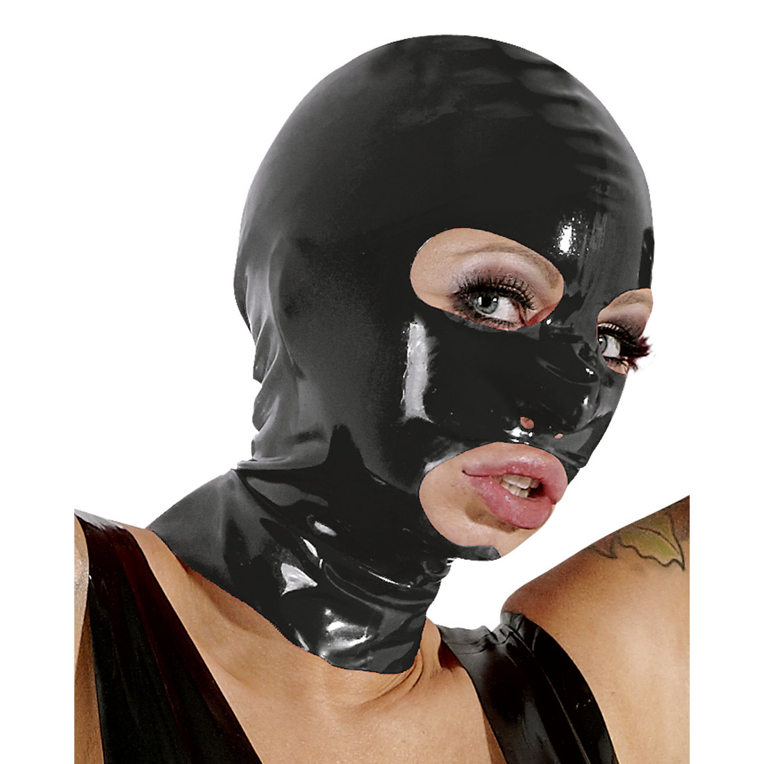 купить латексную маску на голову люблю свое