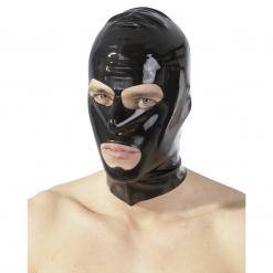 Late X - Latex maska z odprtino za oči in usta