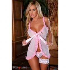 Provocative - Fleur d'Ete Babydoll in tangice