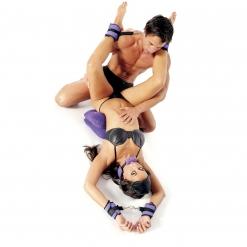 Fetish Fantasy - Purple Pleasure Bondage Set