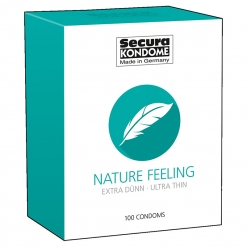 Secura - Nature Feeling Ultra Thin kondomi, 100 kos
