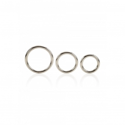 Cal Exotics - Silver Ring Set, 3 kom