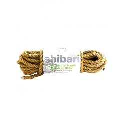 Shibari - Natural Hemp Bondage Rope, 10 m