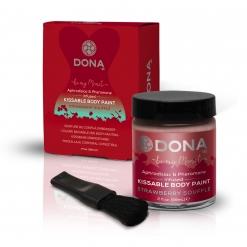 Dona - Body Paint Strawberry Souffle, 60 ml
