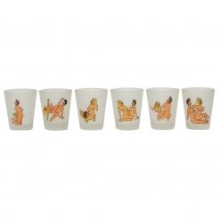 Sexy set kozarcev za žgano pijačo