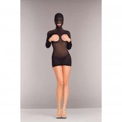 BeWicked Lingerie - Mini obleka z masko