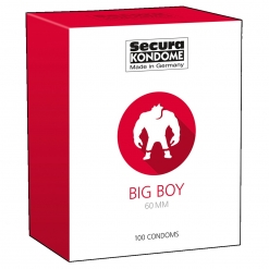 Secura - Big Boy XXL kondomi, 100 kos
