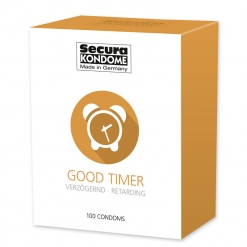 Secura - Good Timer kondomi, 100 kos
