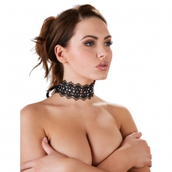Cottelli Collection - Choker z kroglicami