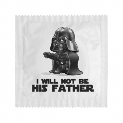 Kondom - I will not be his father, 1 kos