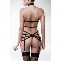 Grey Velvet - Dvodelni harness