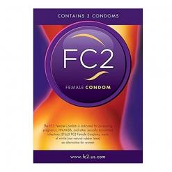 Femidom FC2 - Ženski kondom, 3 kos