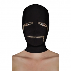 Ouch - Extreme Eye and Mouth Zipper Mask