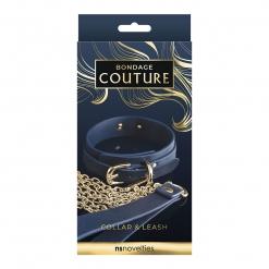 Bondage Couture - Collar & Leash