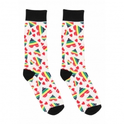 Sexy Socks - Happy Hearts