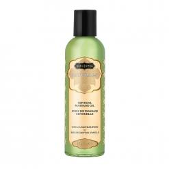 Kama Sutra – Masažno olje Naturals – Vanilla Sandalwood 59 ml